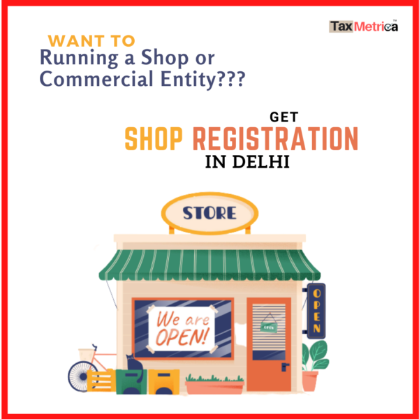 Shop Registration in Delhi