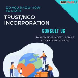 Trust/NGO Incorporation