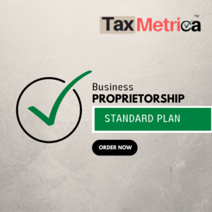 Proprietorship Registration Standard Plan