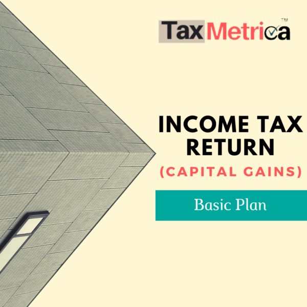 ITR Return (Capital gains)