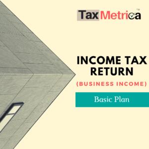 ITR Return (business income)
