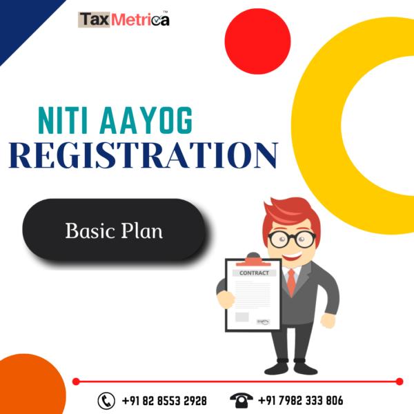 Niti Aayog Registration