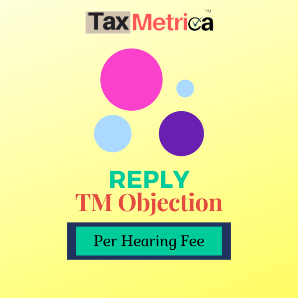 Reply TM Objection Hearing